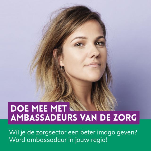 Influencers en Ambassadeurs van de Zorg gezocht!