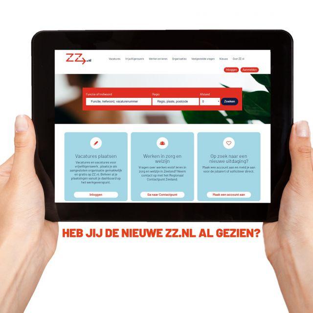 Vernieuwde ZZ.nl is live
